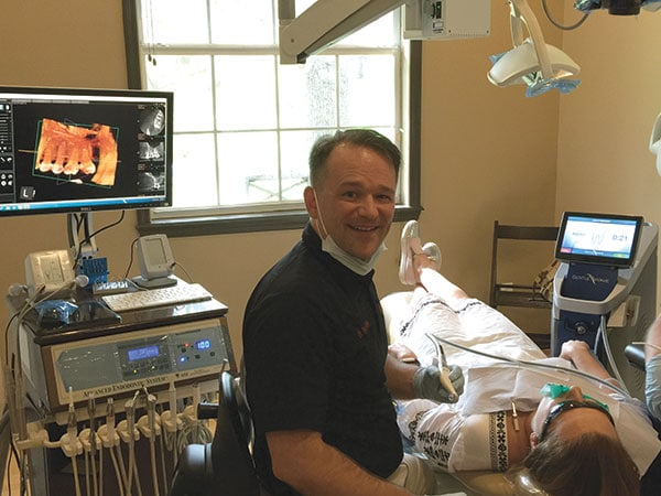 Dr. Wells at Wells Endodontics with the GentleWave® System